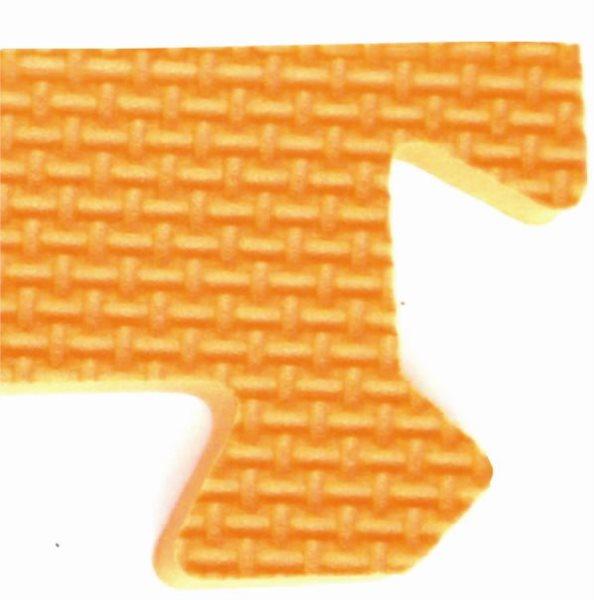 Rohový zakončovací dílek 10mm - oranžový
