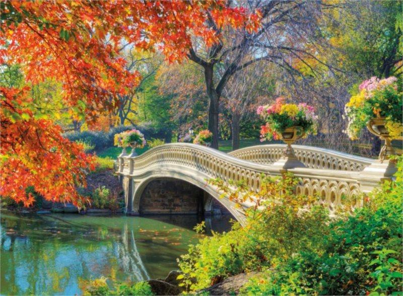 Puzzle RAVENSBURGER 500 dílků - Romantický most