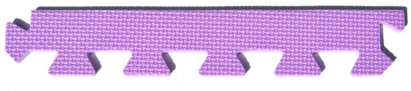 Rovný zakončovací dílek 10mm - fialový