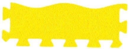 MALÝ GÉNIUS Okrajový dílek vlna silný 0+ (žlutý)