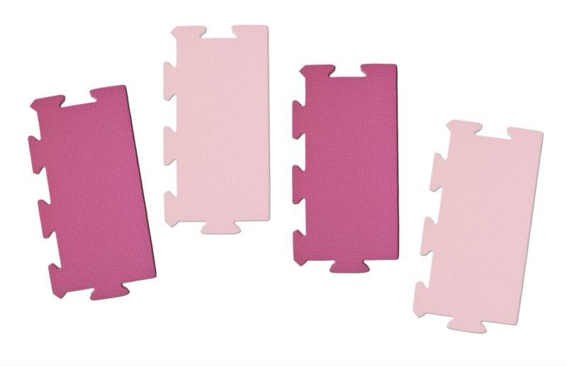 LC Okrajový dílek pro koberec extra 0+ růžový 1ks (mix)