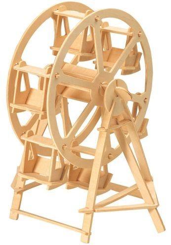 WOODEN TOY , WCK 3D puzzle Ruské kolo