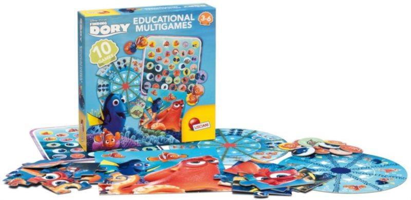 LISCIANI Sada vzdělávacích her Hledá se Dory 10v1