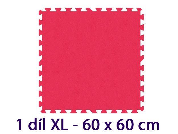MALÝ GÉNIUS Samostatný díl XL 8mm (červený)