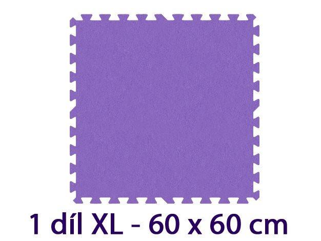 MALÝ GÉNIUS Samostatný díl XL 8mm (fialový)
