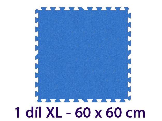 MALÝ GÉNIUS Samostatný díl XL 8mm (modrý)