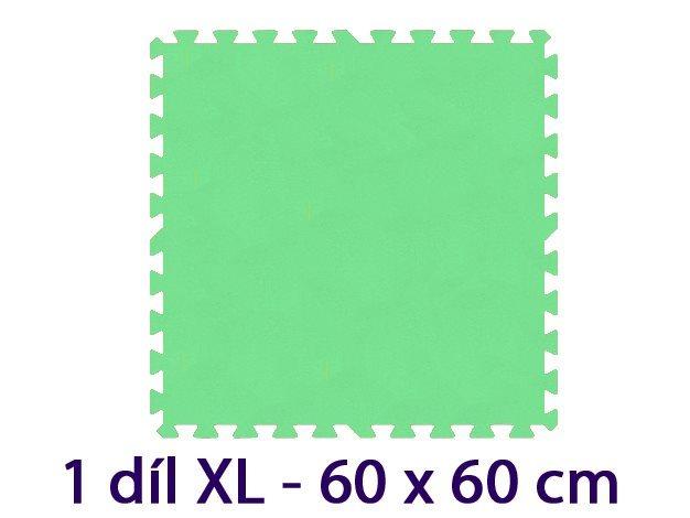 MALÝ GÉNIUS Samostatný díl XL 8mm (zelený)