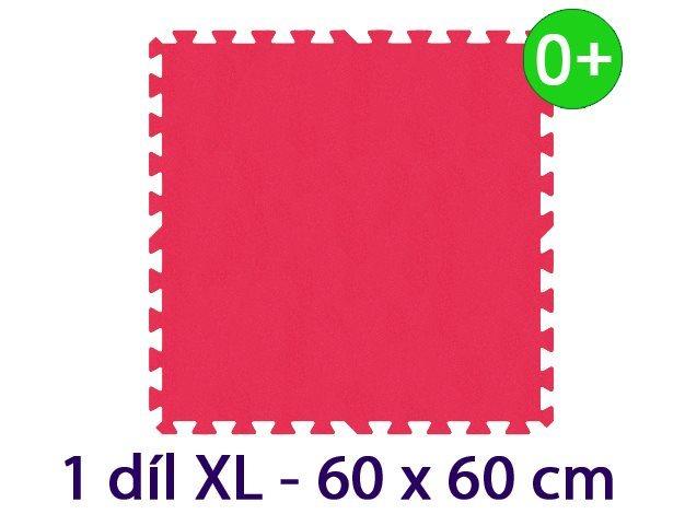 MALÝ GÉNIUS Samostatný díl XL silný 0+ (červený)