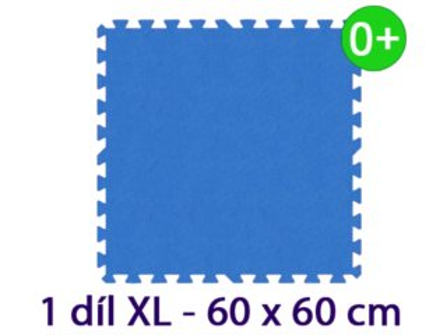 MALÝ GÉNIUS Samostatný díl XL silný 0+ (modrý)