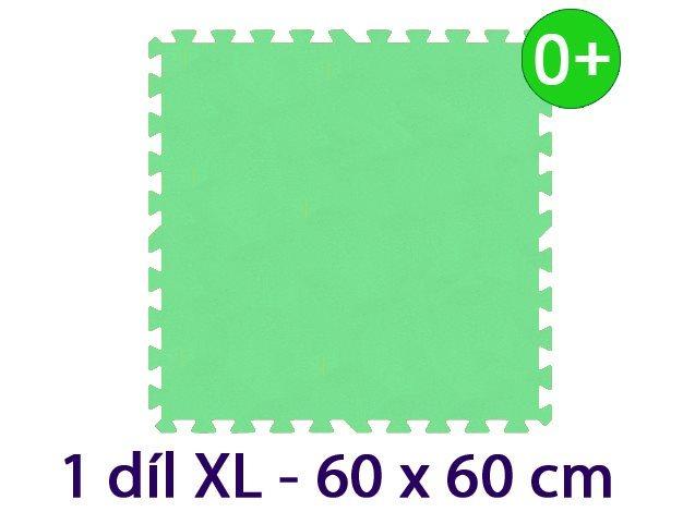 MALÝ GÉNIUS Samostatný díl XL silný 0+ (zelený)