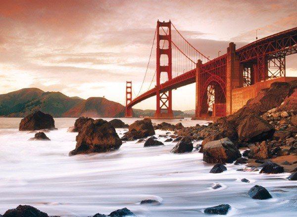 Puzzle CLEMENTONI 500 dílků - San Francisco