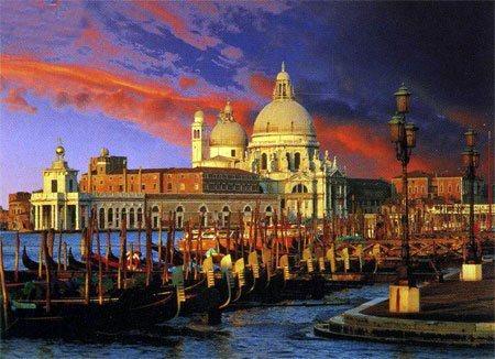 Puzzle TREFL 3000 dílků - Santa Maria Della Salute, Benátky