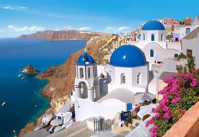 CASTORLAND Puzzle Santorini, Řecko 1500 dílků