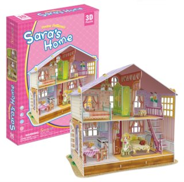 CUBICFUN 3D puzzle Sářin dům snů 96 dílků