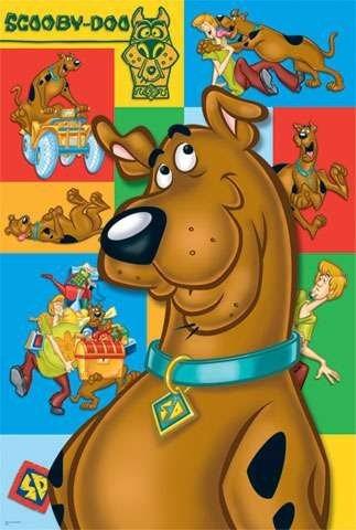 TREFL Puzzle Scooby Doo MAXI 24 dílků