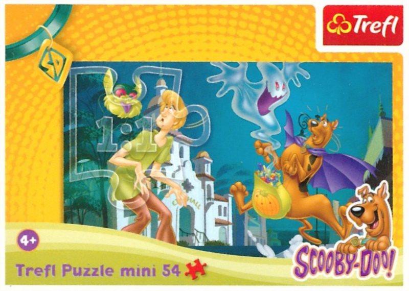 TREFL Puzzle Scooby-Doo: Halloween 54 dílků