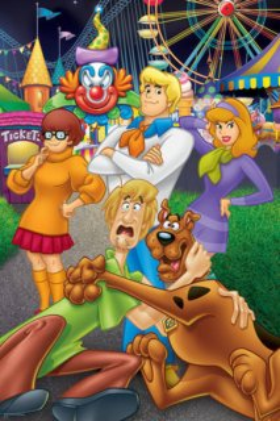 TREFL Puzzle Scooby Doo: Na pouti MAXI 24 dílků