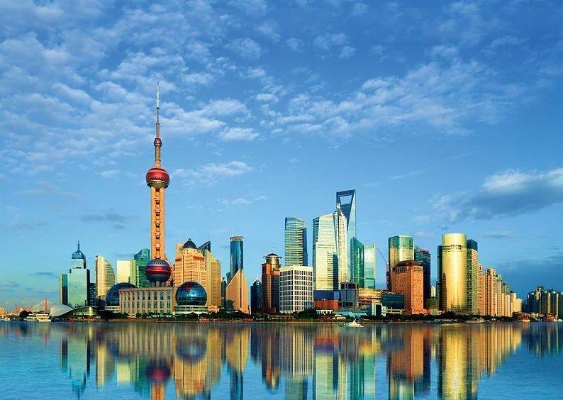 TREFL Puzzle Šanghaj 500 dílků