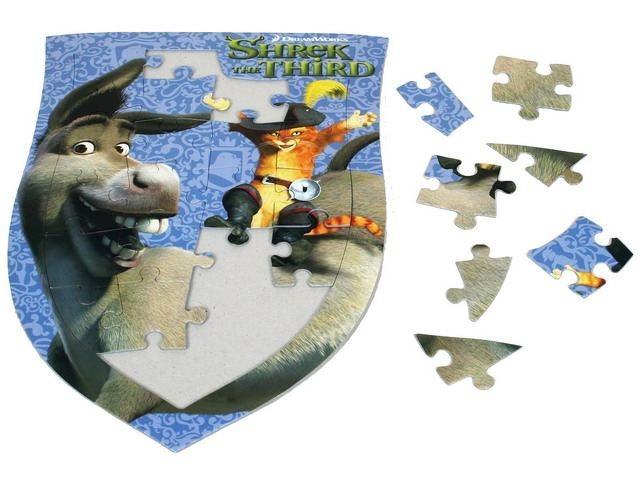 EFKO Puzzle Shrek: Oslík a Kocour v botách 24 dílků