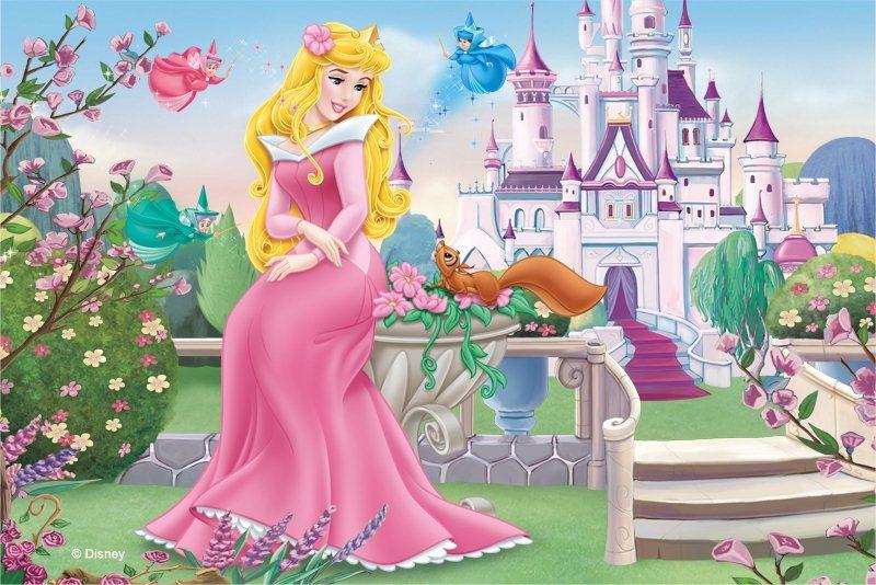 Dětské puzzle TREFL 54 dílků - Šípková Růženka