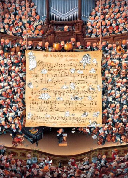 HEYE Puzzle Koncert 1000 dílků