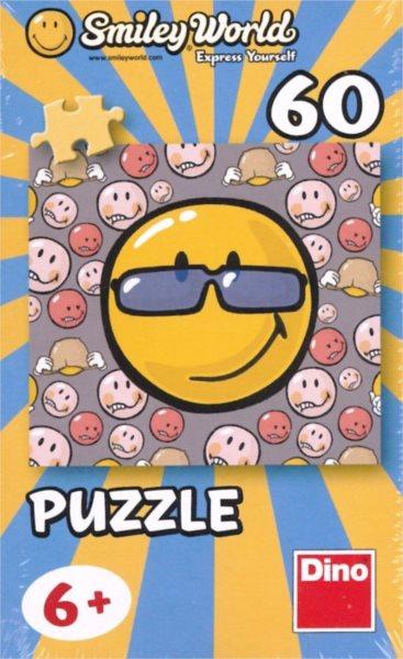 Dětské puzzle DINO 60 dílků - Smiley World: Sluneční brýle