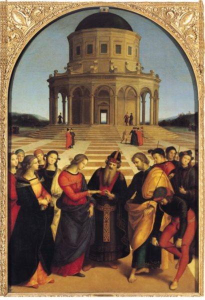 EDITIONS RICORDI Puzzle Svatba Panny Marie 1500 dílků
