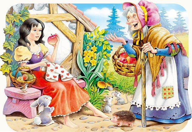 Dětské puzzle 30 dílků - Sněhurka, CASTORLAND