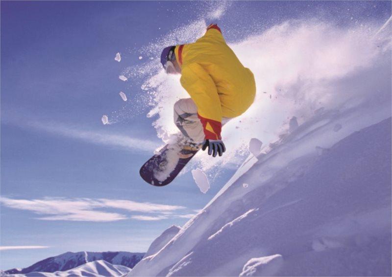 EDUCA Puzzle Snowboard 500 dílků