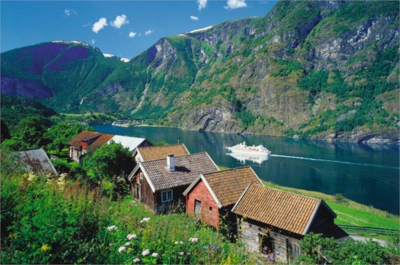 RAVENSBURGER 17063 - Sognefjord, puzzle 3000 dílků