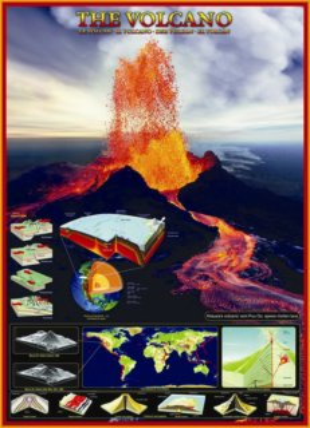 EUROGRAPHICS Puzzle Sopka 1000 dílků