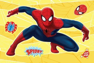 TREFL Svítící puzzle Magic Decor: Spiderman 15 dílků