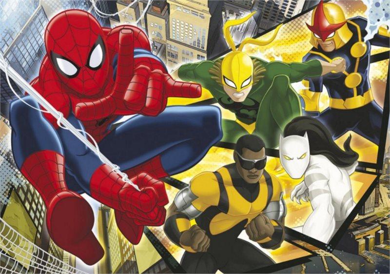 CLEMENTONI puzzle Spiderman Rozený hrdina 60 dílků