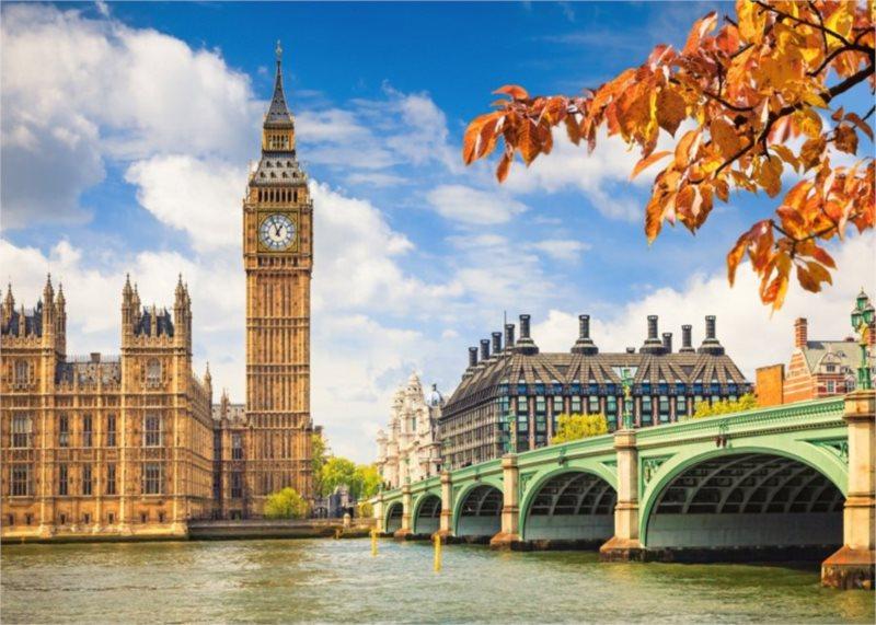 CASTORLAND Puzzle Srdce Londýna 1000 dílků