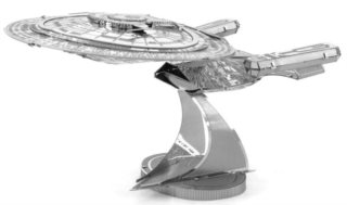 3D kovové puzzle METAL EARTH Star Trek: U.S.S. Enterprise NCC-1701-D