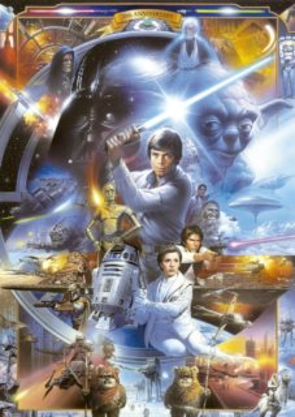 EDUCA Puzzle Star Wars 500 dílků