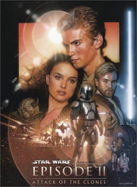 Puzzle RAVENSBURGER 500 dílků - Star Wars II: Klony útočí