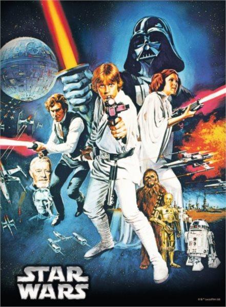 RAVENSBURGER Puzzle Star Wars IV: Nová naděje 500 dílků