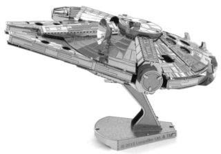 3D kovové puzzle METAL EARTH Star Wars: Millenium Falcon