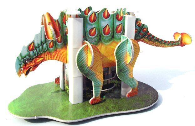 3D puzzle - Stojánek na tužky - Ankylosaurus
