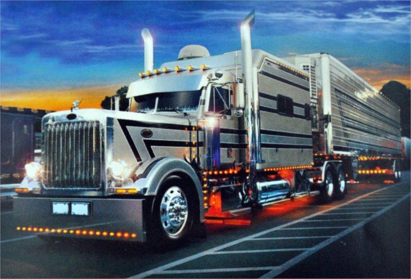 Puzzle TREFL 500 dílků - Stříbrný kamion