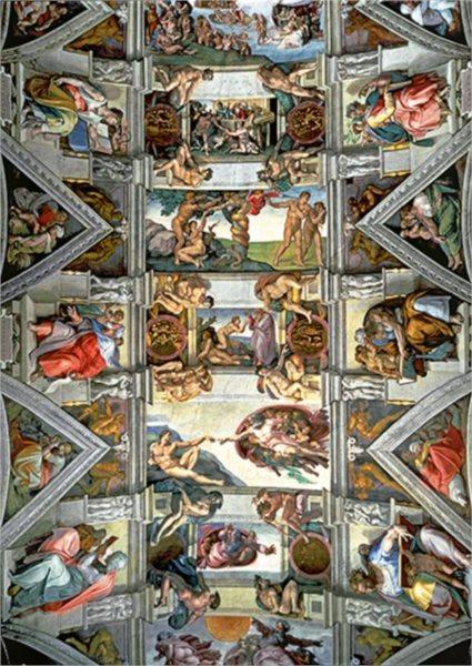 TREFL Puzzle Strop Sixtinské kaple 6000 dílků