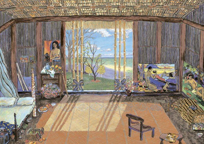 EDUCA Puzzle Studio Gauguin 1500 dílků