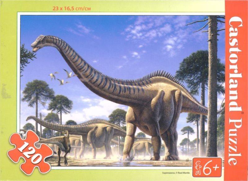 CASTORLAND Puzzle Supersaurus 120 dílků