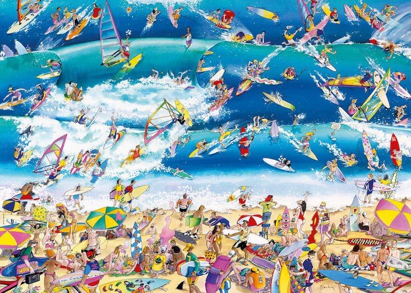 HEYE Puzzle Surfování 1000 dílků