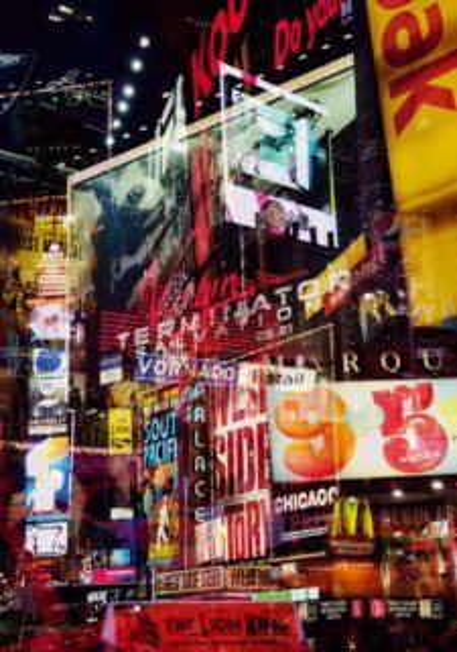 Puzzle RAVENSBURGER 1000 dílků - Světla New Yorku