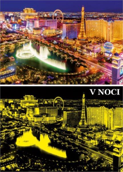 6590b283d53 EDUCA Svítící puzzle Las Vegas 1000 dílků