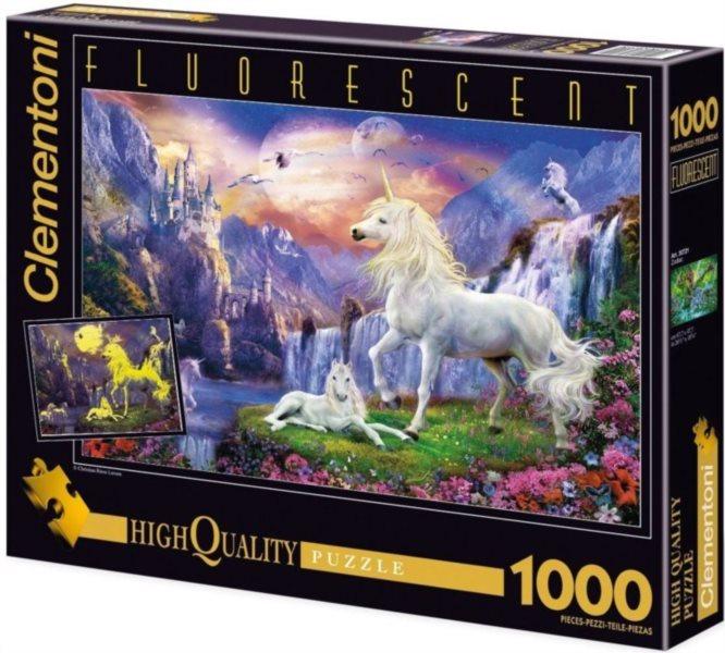 Svítící puzzle CLEMENTONI 1000 dílků - Podvečer, Krásný