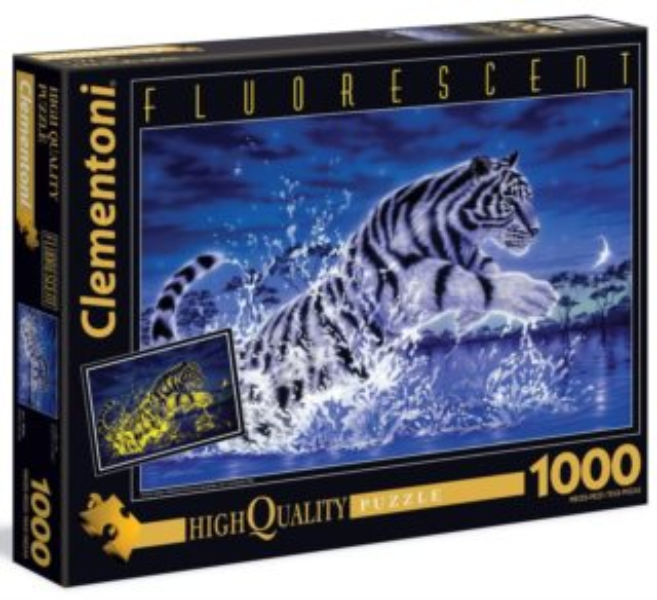 Svítící puzzle CLEMENTONI 1000 dílků -Síla života