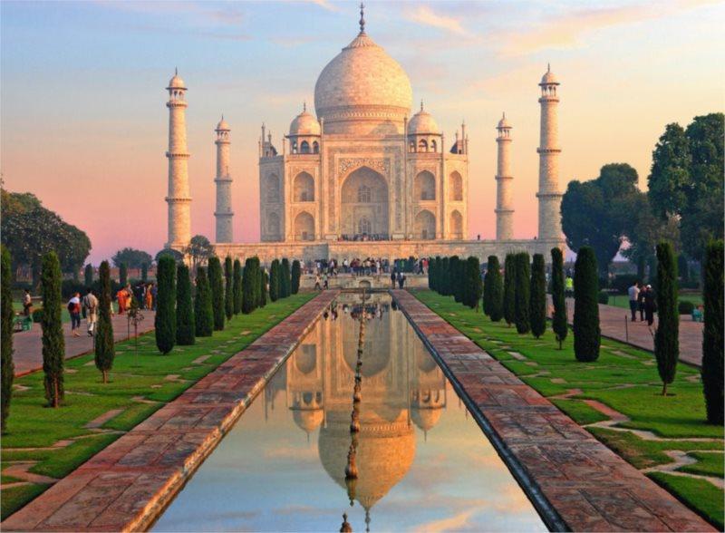 Puzzle RAVENSBURGER 500 dílků - Taj Mahal, Indie